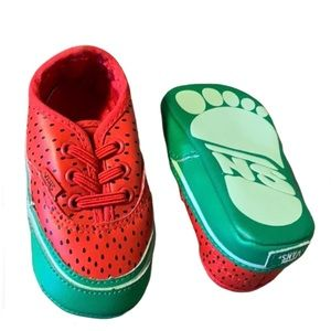 Vans Watermelon Soft-Soled Shoes - Baby Size 2